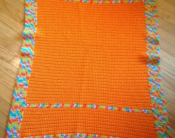 Bright and Cheery Baby Blanket