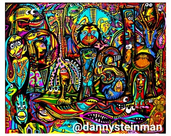 See the Zoo 14 x 17