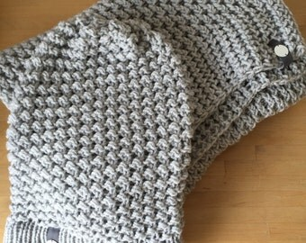 Scarve/shawl and scarf and hat-beanie