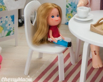 "Chair 1:12 ""Smoothie"" for lati, pukifee, tiny bjd doll"