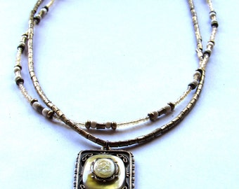 Vintage necklace with Cameo pendant