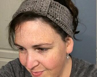Coffee Shop Headband - Handmade Crochet