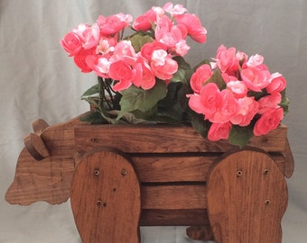 Bear  Planter Basket