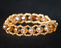 Radiant Gold-colored Bracelet with Special Sheen