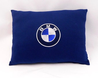 BMW embroidery pillow cushions gift