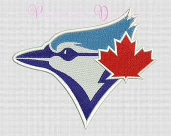 Toronto Blue Jays - 9 Size Embroidery Designs Baseball Logos ~ INSTANT DOWNLOAD ~ Machine Embroidery Pattern