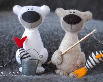 Maikee friends- Two Bears fishermen-
