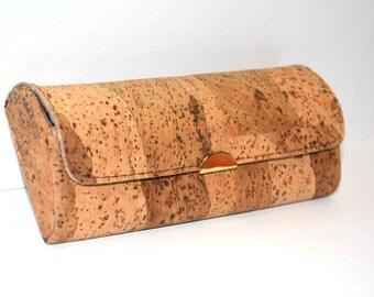 Cork Eyeglasses Case (Rustic)
