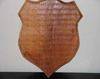 Oak Plaque