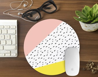 Mouse Pad Geometric, Mousepad Funny, Mouse Mat Mouse Pad Office Mousemat Rectangular Mousemat Mousepad GEOMETRIC design mouse pad-T80523