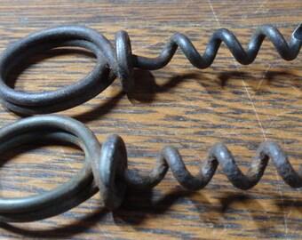 Antique finger cork screw