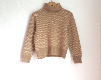 Earthy Vintage Pendleton Sweater