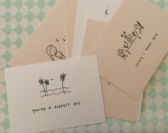 Little Perfect Day Card