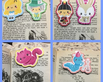 Wonderland Bookmarks