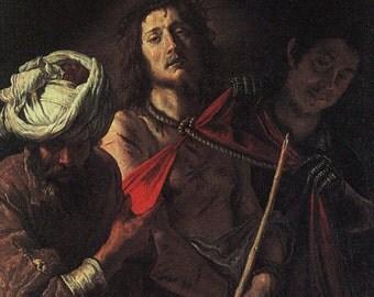 "ecce homo (""Behold the Man!"") After Domenico Fetti 1610"