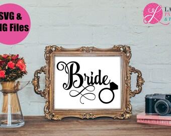 Bride SVG   Wedding SVG   Bride Digital File   SVG file
