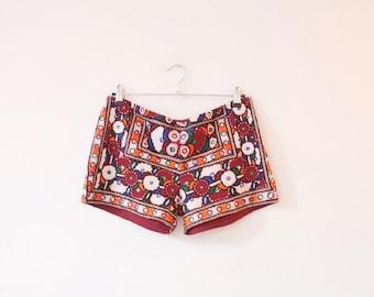 Vintage banjara shorts M