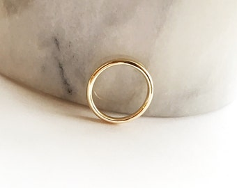 14k Yellow Gold Band - 2mm