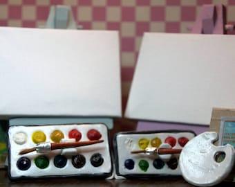 Mini water colour paint sets