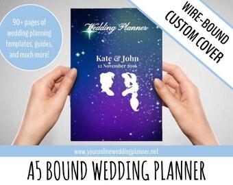 CUSTOM ULTIMATE Wedding Planner A5, Wedding Organizer, wedding planner book, DISNEY, simple wedding planner