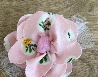 Custom HairAccessories to coordinate with your peony dress