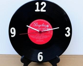 LP Record Clock / wall clock vinyl / Horloge Vinyl