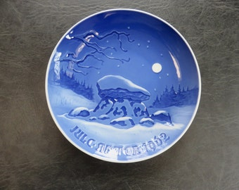 1962 Christmas Plate by Bing & Grondahl