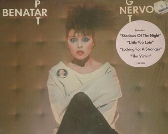 Pat Benatar vinyl  record album, Get Nervous vintage vinyl record