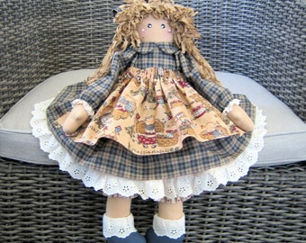 Blue Country Doll