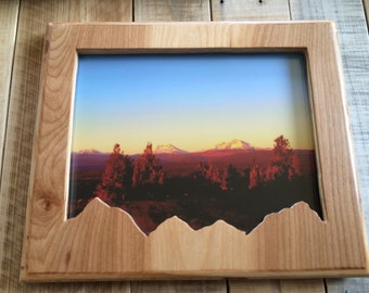 8x10 Wooden Mountains Frame