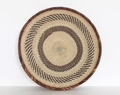 Binga basket from Zimbabwe | flat woven | large size