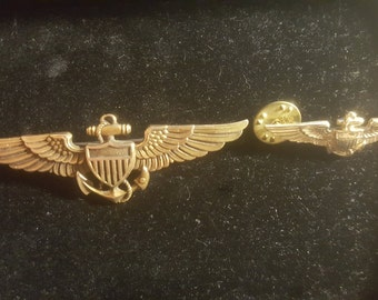 NAVY PILOT WW2 Wings Pins 2