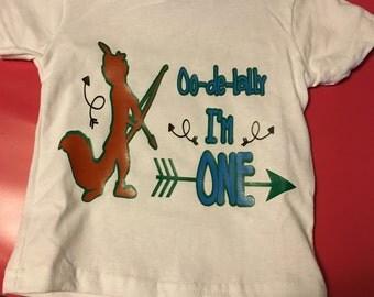 Robin Hood birthday tee