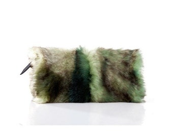 PURSE, my babe clutch - forest - green