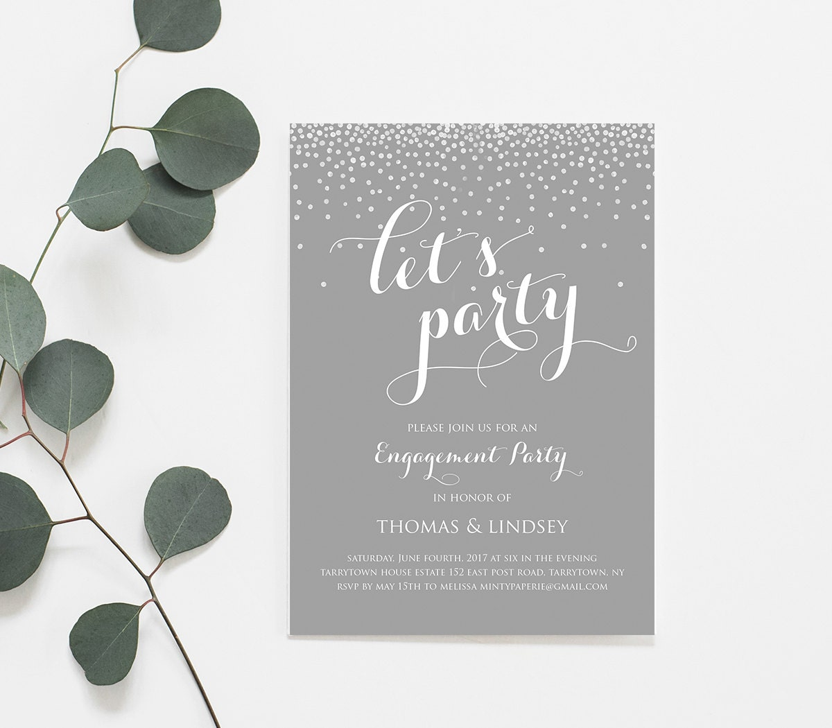 Engagement Party Invitation Template Printable Wedding Engagement – Engagement Party Template
