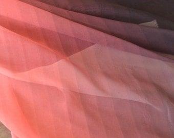 0.5 meter Chiffon Fabric, plain Fabric, Gradient fabric,  fabric for Dress,wide 57.08''(3-235)