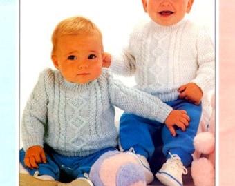 Knitting pattern baby sweater / PDF / Vintage pattern