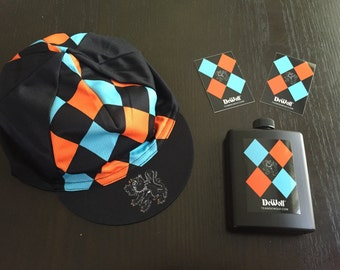 MonsterCross Survival Kit: Cycling Cap, Flask, Stickers