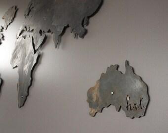Raw Metal Map