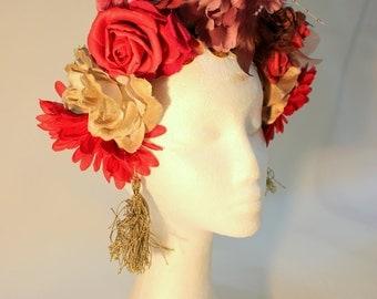 Gypsy Flower Crown