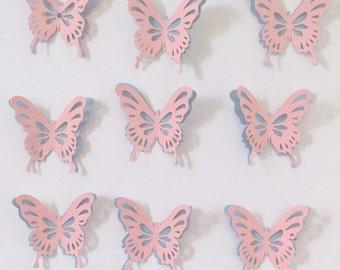 Morgana Cat Scrap!  Butterfly 3-Dimensional Paper Scrap Ever Assembled/Morgana Cat Scrap: Scrap Paper Dimensional Butterfly Already Mounted