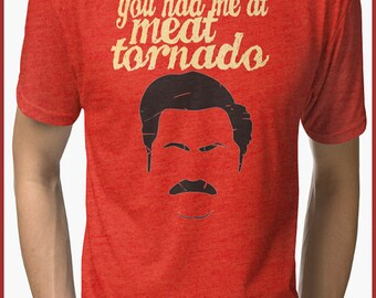 Parks and Recreation Ron Swanson  Tri-blend T-Shirt