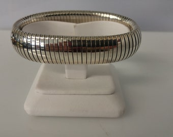 Sterling stretch bracelet