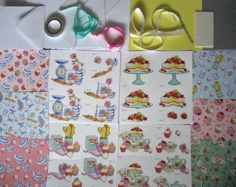 Cupcakes & Teacups Cardmaking Kit