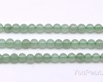 Aventurine beads, 3mm round, small aventurine gemstone beads strand, grade A green stone beads, natural loose stone, craft supplies, AVT2007