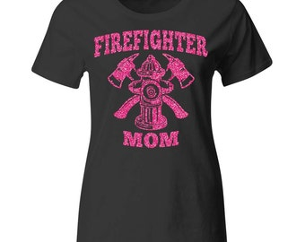 Unique Firefighter Mom Related Items Etsy