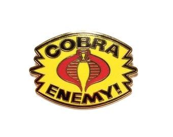 The Enemy Pin - Cobra/G.I. Joe-Inspired Lapel Pin