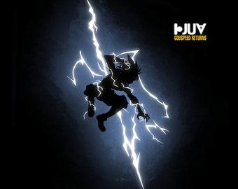 Godspeed Returns -  Men's Unisex HunterXHunter - Anime Comic Parody Clothing