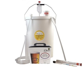 32 Pint Homebrew Beer Making Starter Kit - St Peters IPA, Home brew Microbrewery