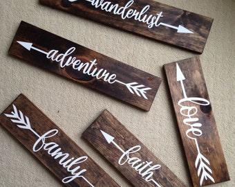 Word Arrow Art